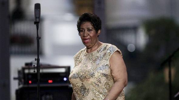 Aretha Franklin vor zwei Jahren bei den International Jazz Days in